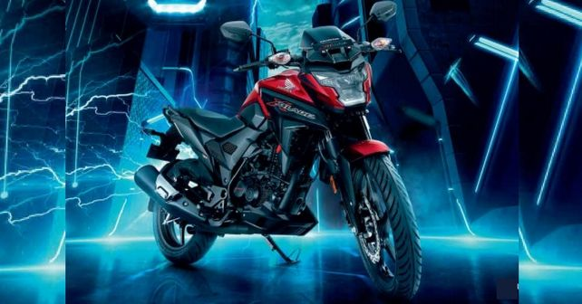 Honda X-Blade 160cc Launched At Rs 78500