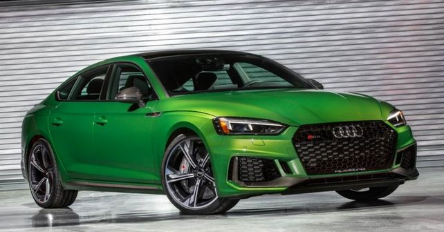 Ever Audi RS5 Sportback debuts at NYIAS 2018