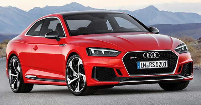 audi rs5 coupe launched for rs 1 1 crore autox. Black Bedroom Furniture Sets. Home Design Ideas