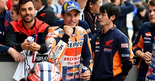 Vinales inherits COTA MotoGP pole after Marquez receives blocking penalty