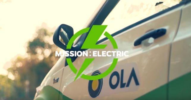 Ola to introduce 10000 EVs