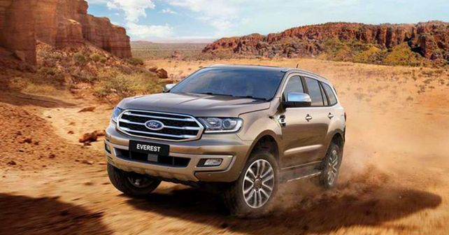 Ford Endeavour facelift breaks cover