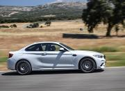BMW M2 Competition side profile dynamic