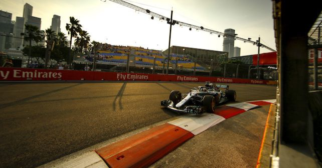 F1 2018 Singapore Grand Prix Hamilton Pole