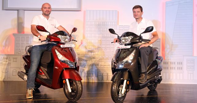 Hero Destini 125 launched in India