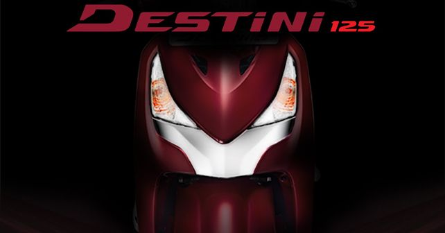 Hero Destini 125 Launch On 22nd October 2018