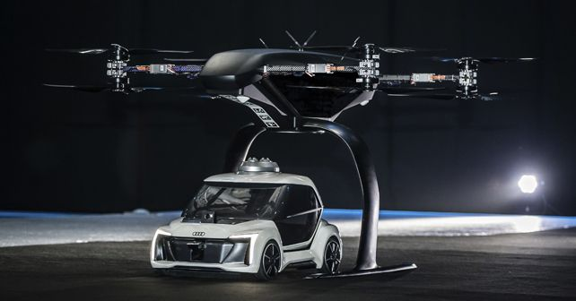 Flying Taxi Concept