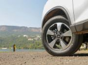 Mahindra Alturas G4 review alloy wheel detail g