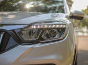 Mahindra Alturas G4 review headlight detail
