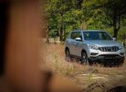 Mahindra Alturas G4 review static image front three quarter
