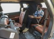 Mahindra Alturas G4 review third row seating detail