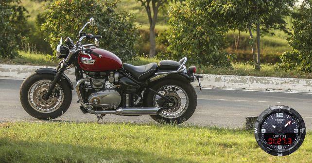 Triumph Bonneville Speedmaster Profile