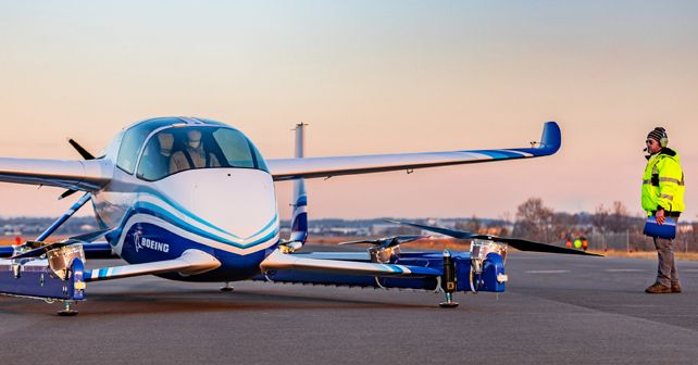 Boeing Autonomous PAV