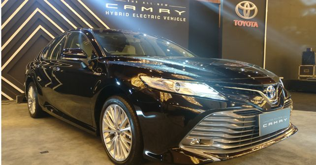 2019 Toyota Camry Hybrid launch