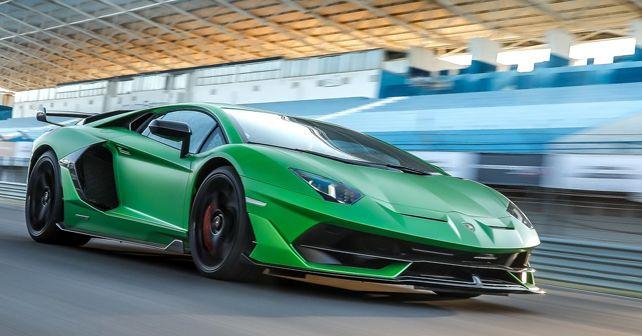 Lamborghini Aventador SVJ 2019 Front Dynamic