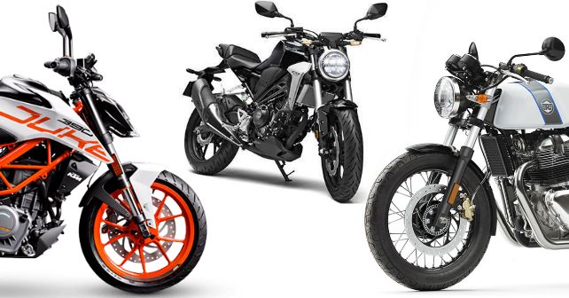 Honda Cb 300r Vs Royal Enfield Continental Gt 650 Vs Ktm 390 Duke