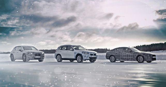 BMW iNext, iX3 And i4 Prototypes