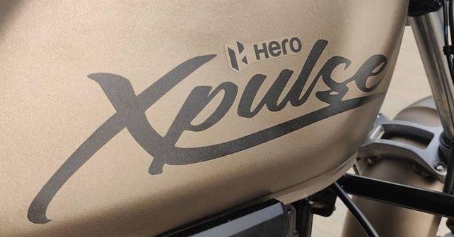 Hero XPulse 200T Fuel Tank Livery
