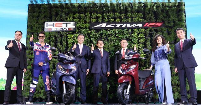New Honda Activa 125 BS6 unveiled