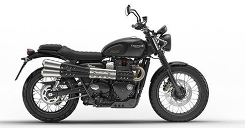 Triumph Street Scrambler Colours - View Triumph Street Scrambler colours available in Indian market at autoX. Choose your favorite Triumph Street Scrambler colour and book new bike now is available in 3 colours in India. Explore Triumph Street Scrambler with multiple color options like Jet Black, Korosi Red / Frozen Silver, Matt Khaki Green.