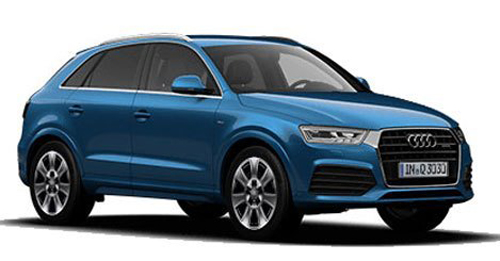 Audi Q3 [2015-2017] Dimensions, Length, Width and Height.