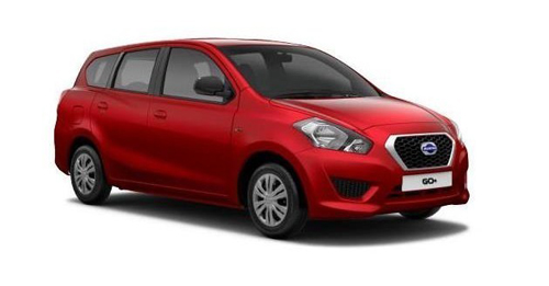 Datsun GO Plus Boot Space Capacity.