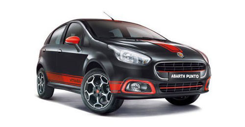 Fiat Abarth Punto Boot Space Capacity