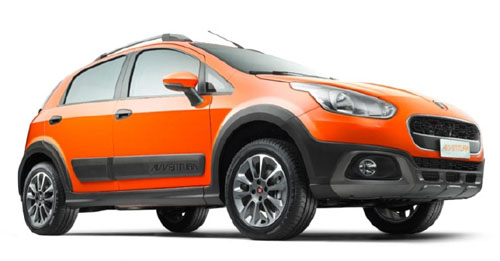 Compare Fiat Avventura Ground Clearance with similar cars