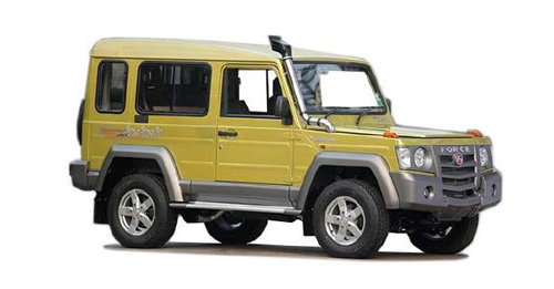Force Motors Gurkha [2013-2017] Dimensions, Length, Width and Height.