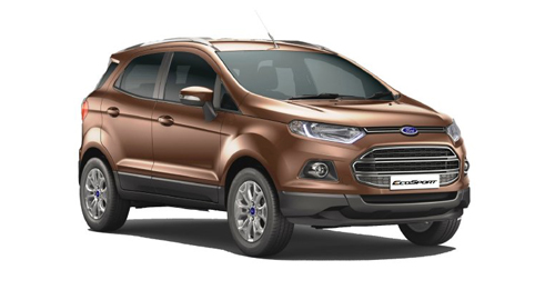 Ford EcoSport [2015-2017] Boot Space Capacity.