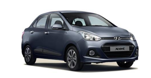 Hyundai Xcent [2014-2017] Dimensions, Length, Width and Height.