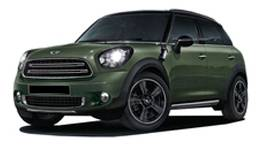 Mini Countryman [2016-2017] Kerb Weight.