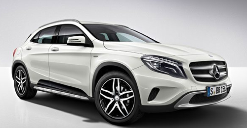 Mercedes-Benz GLA [2014-2017] Boot Space Capacity.