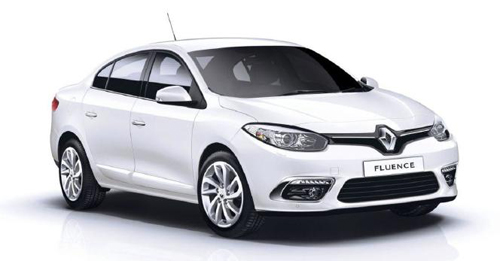 Renault Fluence [2014-2017] Dimensions, Length, Width and Height.
