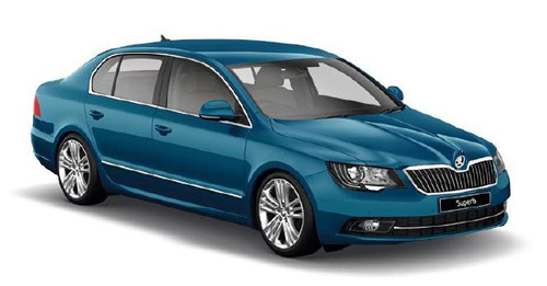 Skoda Superb [2014-2016] Dimensions, Length, Width and Height.