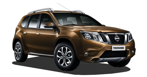 Nissan Terrano Colours - View Nissan Terrano colours available in Indian market at autoX. Choose your favorite Nissan Terrano colour and book new car now is available in 6 colours in India. Explore Nissan Terrano with multiple color options like Sandstone Brown, Bronze Grey, Sapphire Black, Blade Silver, Pearl White, Fire Red.