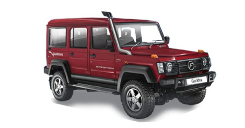 Force Motors Gurkha Dimensions, Length, Width and Height.