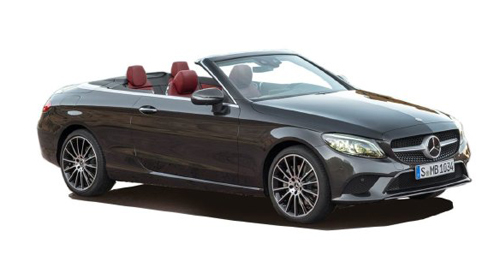 Mercedes-Benz C-Class Cabriolet Boot Space Capacity.