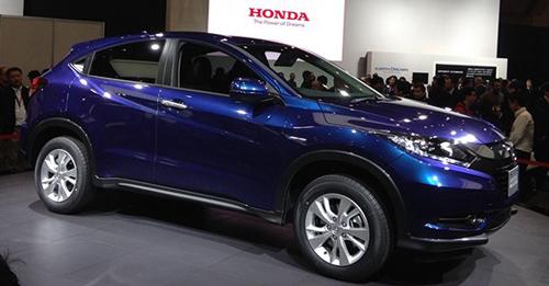 Honda Vezel Model Image