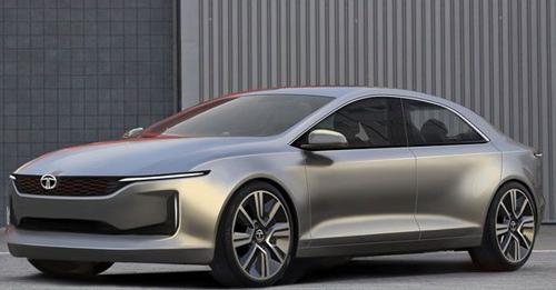 Tata E-Vision concept Model Image
