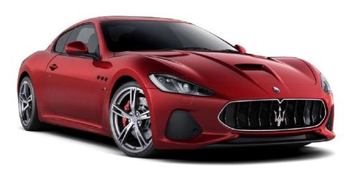 Maserati GranTurismo Boot Space Capacity
